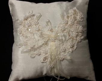 Heirloom Ring Bearer Pillow