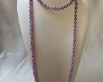 Lavender Amethyst necklace