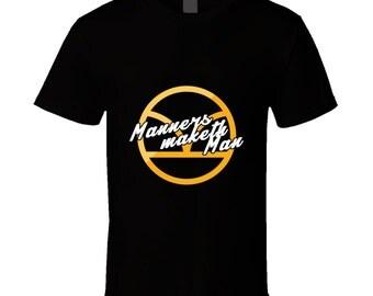 Kingsman, Kingsman Tshirt, Manners Maketh Man, Kingsman Shirt