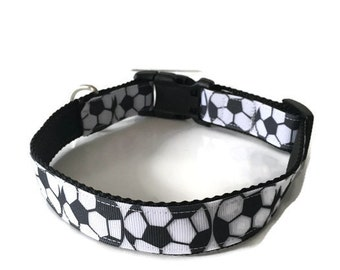 Soccer Dog Collar