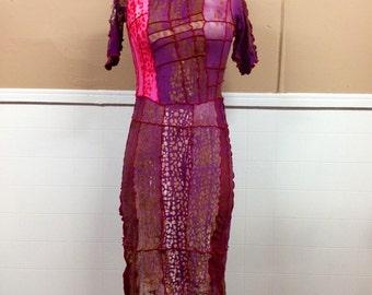 Merlot Rose Dress M