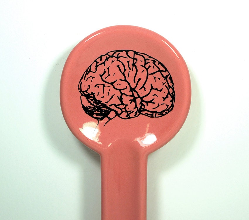 spoon rest brain - Made to Order / Pick Your Colour
