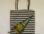 Allegheny Mountains,PA Pennant Flag Tote Bag-One of a Kind