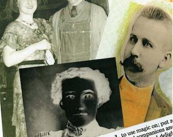 Digital Halloween Collage Sheet 22