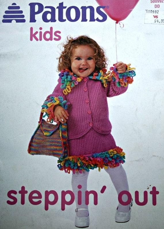 Patons Knitting Patterns Children : Knitting Patterns Beehive Patons Kids 500992 steppin out