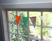 Reclaimed Glass Bunting - Garland - Banner