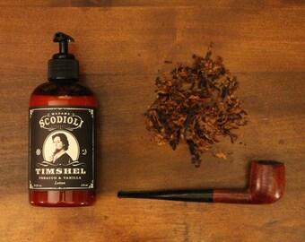 Timshel Hand & Body Lotion - Tobacco and Vanilla