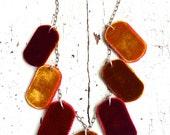 Velvet Wafer Necklace
