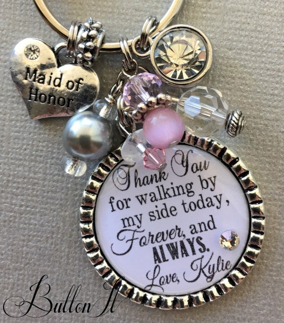 Items Similar To Maid Of Honor Gift, Bridesmaid Gift
