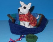 Teeny Tiny Knitted Dog Set