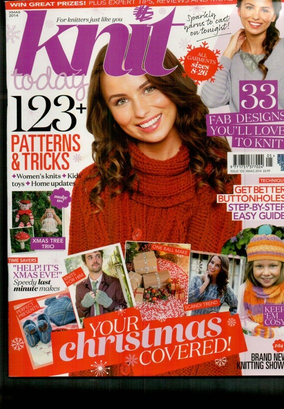 Knit Today Knitting Magazine Christmas Issue 2014