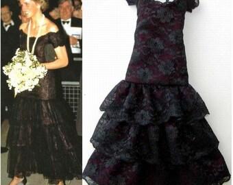 Replica Lot 56 Gown for Princess Diana