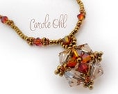 Crystal Quadrangle Necklace, Earrings or Bracelet Tutorial by Carole Ohl