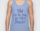 RHONY Real Housewives of New York City  What Are You Doing Here Without Dorinda?Sonja Unisex Tank Tops