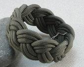 olive drab paracord rope bracelet turks head knot sailor bracelet armband woven paracord bracelet 1541
