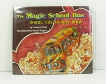 The Magic School Bus In the Human Body, Ms Frizzles Class Adventure, Signed by Illustrator