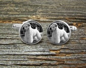 Dog Soft Coated Wheaten Terrier Cufflinks-Wedding-Jewelry Box-Silver-Gold-Keepsake-Man gift-Geek-Nerd-Show Dogs-Herding Dog-Cute Dogs-Irish