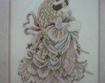 "NIP - Beautiful ""Winter Angel"" Counted Cross Stitch Kit from Janlynn (#80-291)"