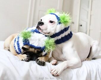 Custom Dog Hat - The Original Pug Hat - Custom Dog Clothing - Pet Accessories - Pet Hat - French Bulldog Hat - Handmade Dog Fashion