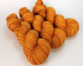 AUTUMN TONAL Hand-dyed 80/20 Merino Sock Yarn - 400yds 100g