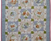 Pooh Bear and friends quilt