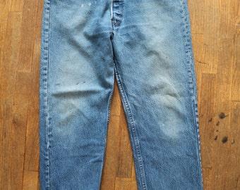 Vintage LEVIS 501 DISTRESSED Boyfriend JEANS 36 x33