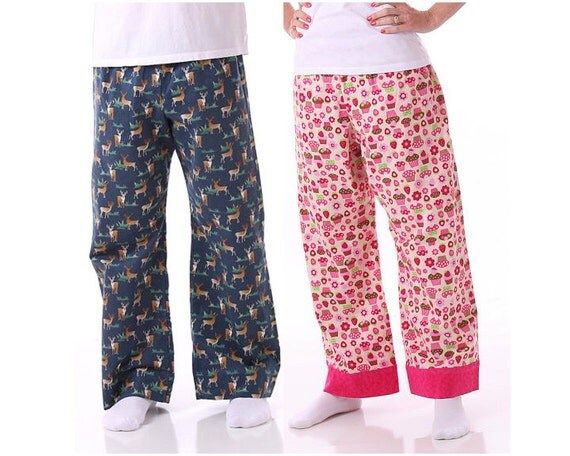 Easy-Fit Men's and Women's Pants Pattern for Tweens, Teens and Adults,  PDF Sewing Pattern E-Book by Scientific Seamstress