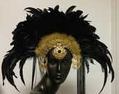 Opal Moon Headdress by Creatrix by Willow