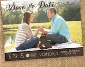 Custom Wedding Save the Date - Custom Digital Files