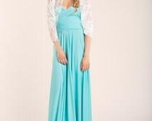 Wedding Lace Shawl, Lace scarf, shawl, bridal accessories, lace bolero, bridal gown, circle scarf, choose your color, mimetik bcn dresses