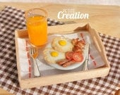 Breakfast Set (1/12th Scale Dollhouse Miniature)