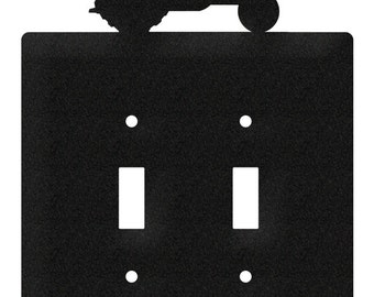 Ford 8N Tractor Light Switch Double Plate Cover