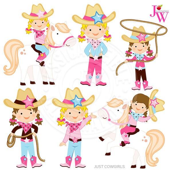 Clip Art Cowgirl Clipart cowgirl clipart etsy just cowgirls digital graphics clip art cute pony rope hat western