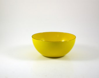Finel of Finland Yellow Bowl by Kaj Franck