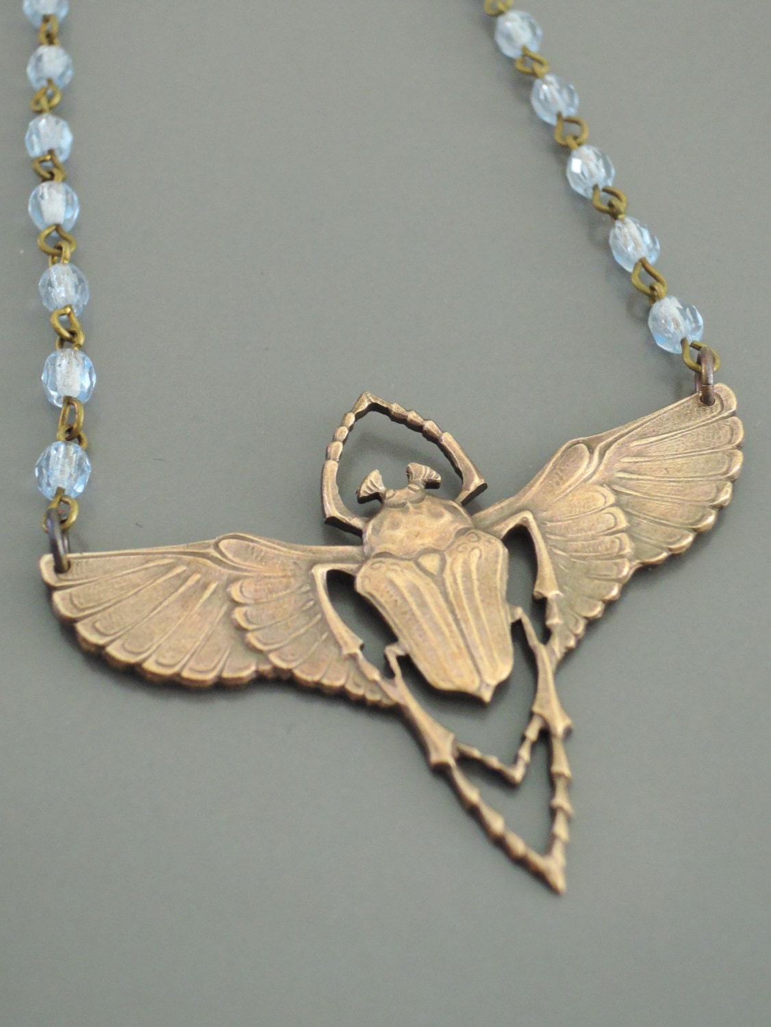 egyptian scarab necklace - photo #21
