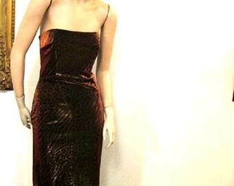 SALE 20% OFF   Vintage Gunne Sax Disco Gown