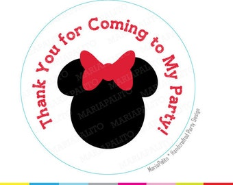 Minnie Mouse Custom Invitations as great invitation example
