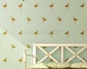 Flamingo Wall Decals - Modern Home / Baby Nursery Decal . Removable Wall Decals - Flamingo Decals - AP0038TF