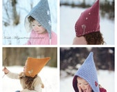 Pixie Hat BUNDLE of all designs - Sizes Infant to 10