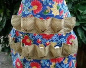 Egg Collecting Apron Egg Gathering Apron - Bright and Cheery