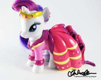 Custom My Little Pony Rarity in her Gala dress