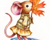 Sweet Autumn - Print ACEO or 5x7 by Carmen Medlin