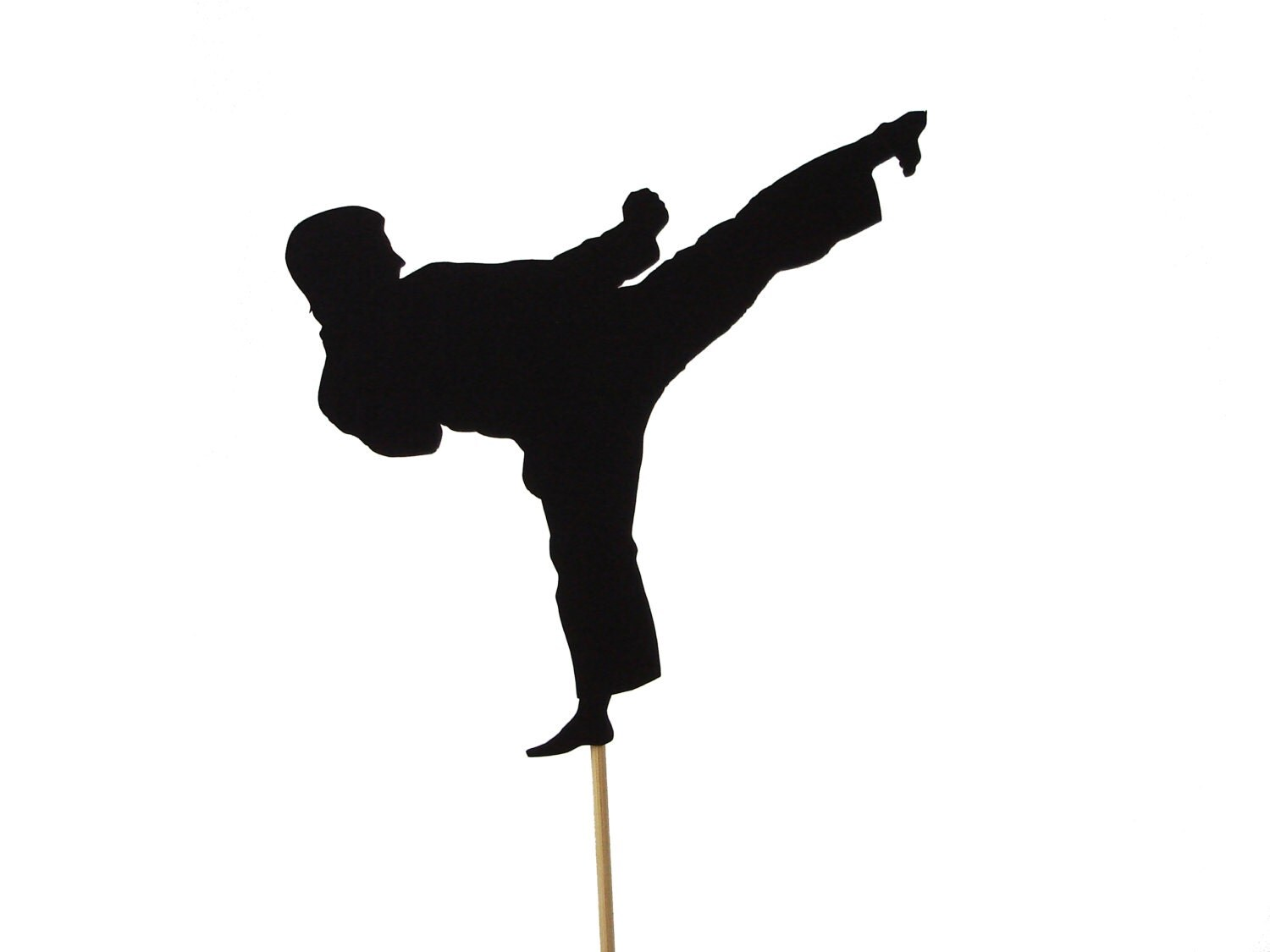 Male or Female Karate Cake Topper Martial Arts Party
