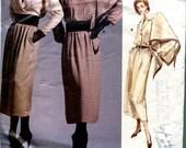 Vogue 1956 Calvin Klein Shirt Skirt Scarf Shawl Wrap American Designer B36