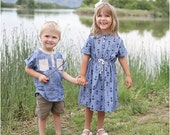 Cape Cod Shirt & Dress Sewing Pattern