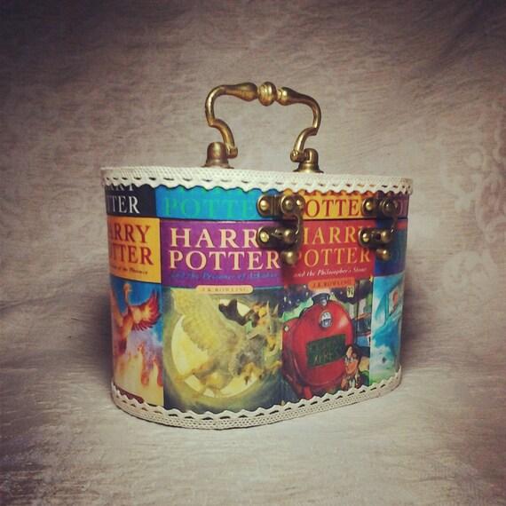 Harry Potter Book Bag : Items similar to harry potter bag purse