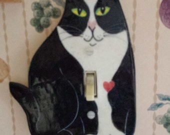 cat switchplate cover