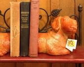 DACHSHUND BOOKENDS - Solid & Heavy Weiner Dog Office Decor (RG)