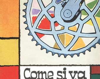 Bicicletta Bicycle Poster (#1050) 6 sizes