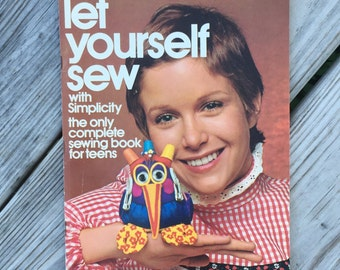 Sew Sewing Book Learn to Sew Instructional Sewing Book